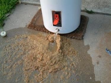 Draining Sediment from Water Heater